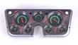 Clayton Machine Works Gauge Panels for Chevy/GMC Pickup, Aluminum Finish with Pinstriping