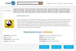 InsiderHub new vendor profile layout