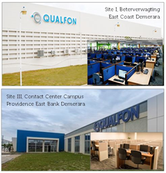 Qualfon Guyana Site I and Site III