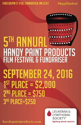 2016 HANDy Paint Products' Film Festival Flyer