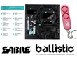 Pink Personal Alarm with Key Ring by SABRE Chosen as Ballistic Everyday Carry Item