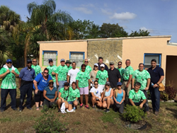 People's Trust & Rapid Response Team volunteer at Rebuilding Broward