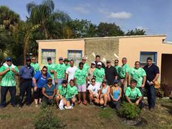 People's Trust & Rapid Response Team volunteer at Rebuilding Broward
