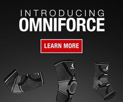 OmniForce™ Supports for Knees Ankles and Elbows