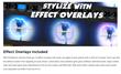 PFS Effects - ProElectric Cartoon - FCPX Plugins
