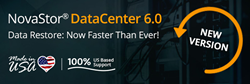 NovaStor's DataCenter 6.0 Now Available