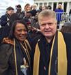 Rev. Bernice King with honoree Dr. Jim Garlow