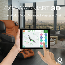 All New Ogawa Smart 3D Massage Chair