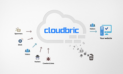 Cloudbric filtering out malicious web traffic