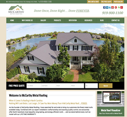 McCarthy Metal Roofing Launches New  Website to Help North Carolina...