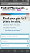 """RedAwning.com, Inc. Releases Newly Designed PerfectPlaces.com With More User-Friendly Features For Vacation Rental Shoppers & Valuable """"No-Fee Pledge"""" On All Bookings"""