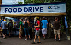 Conscious Alliance food drive