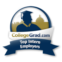CollegeGrad.com Top Intern Employers Award Graphic