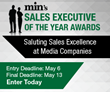 Entry Deadline May 6 – min's Sales Executive of the Year Awards