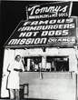 Founder Tommy Koulax in front of the first Original Tommy's