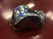 Chrome/cobalt talus replacement prosthesis