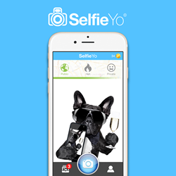 SelfieYo Location-Based Photo Chat on iPhone and Android