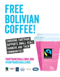 Thousands of Cups of Complimentary, Fairtrade Organic Coffee to Perk Up Masses at Bolivian Embassy for Passport DC