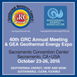 Call for Papers for GRC 2016 Annual Meeting – Deadline is This Week