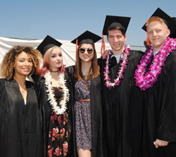 Otis Students at Commencement Ceremony