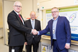 Photo from left to right: , Dr John Ridden (Chief Executive and Co-Founder Blueberry Therapeutics), Dr Mike Davies (Chief Medical Officer and Co-Founder Blueberry Therapeutics) and Dr Gareth King (Inv