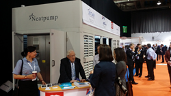 Star Renewable Energy exhibiting their air source heat pump at All Energy in the SECC