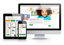 The newly launched Early Learning Coalition of Orange County responsive website