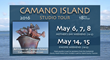 "Get a sneak peek at this year's tour and learn why ""Art lives on Camano Island"" at https://vimeo.com/163561050."