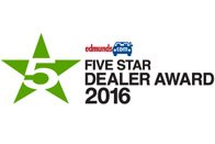 Bay Ridge Jeep Receives 5 Star Award By Edmunds.com