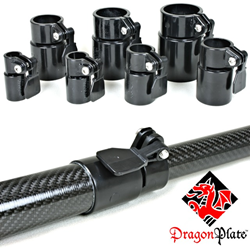 Carbon Fiber Telescoping Tube Clamps