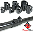 DragonPlate Releases Telescoping Tube Clamps for Carbon Fiber Tubes