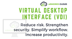 Armored Cloud Virtual Desktop Interface (VDI)