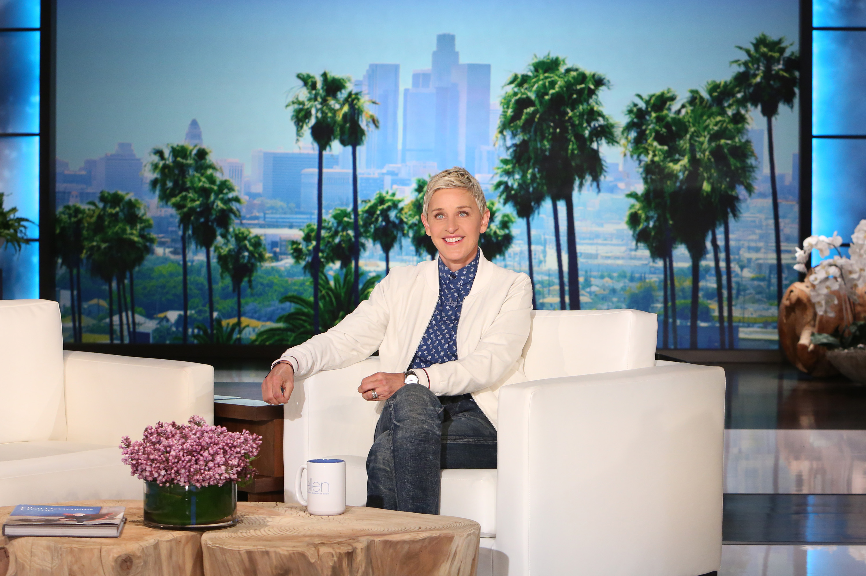 Ellen degeneres launches new digital network and unveils first original programming slate at - Ellen show new york ...