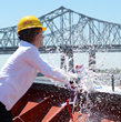 Crowley Christens MT Louisiana; Company's Third LNG-Ready, Product Tanker to Sail U.S. Coastwise Trade