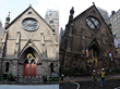 St. Sava Cathedral - before and after fire