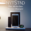 NytStnd is an All-in-One Dock that Allows  Users Charge up to 4 Devices at Once