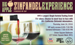 New York Wine Events Presents the Big Apple Zinfandel Experience Featuring Top California Wine Producers, June 16 at New York City's Union Square Ballroom