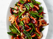 blood orange and shrimp stir fry