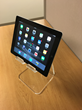Acrylic Tablet Stand, from PLEXISTANDS® New Product Now Available For Sale On-line — Fast Ship