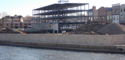 The redevelopment of Downtown St. Charles is underway.