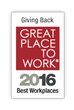 Inspirus Named One of Best Workplaces for Giving Back