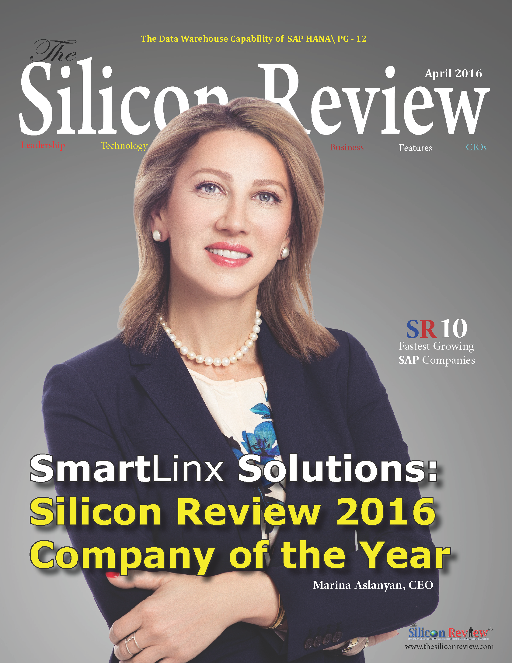 SmartLinx Solutions Named 2016 Company of the Year by The