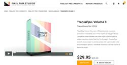 FCPX Plugins - TransWipe Volume 3 - Pixel Film Plugins