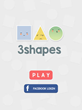 "New Fun & Addictive ""3 Shapes"" by Jottry LLC Features 90 Levels, Unique Stages & Puts Unique Twist Old Fashioned Matching Games"