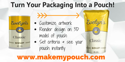 Original packaging created with Make My Pouch