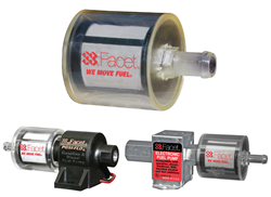Automotive, fuel pump, filters, motor components, facet-purolator, clear filters,