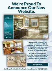 All ABout Bathrooms, Denver, CO. Announces New Website