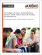 New Akademos Study Confirms Colleges Can Improve Student Satisfaction, Bookstore Sales & Academic Success by Providing Key Online Services