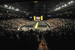 Graduates, friends and family fill the Maverik Center in West Valley City for Salt Lake Community College's 2016 commencement ceremony.