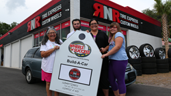 rnr donates car to family